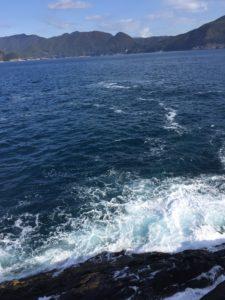 熊野の沖磯の鈴置島(すずこじま)