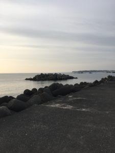 三重県鳥羽の国崎港