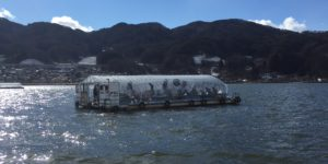 諏訪湖ドーム船「みなと」