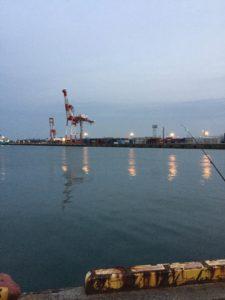 霞埠頭ウール岸壁