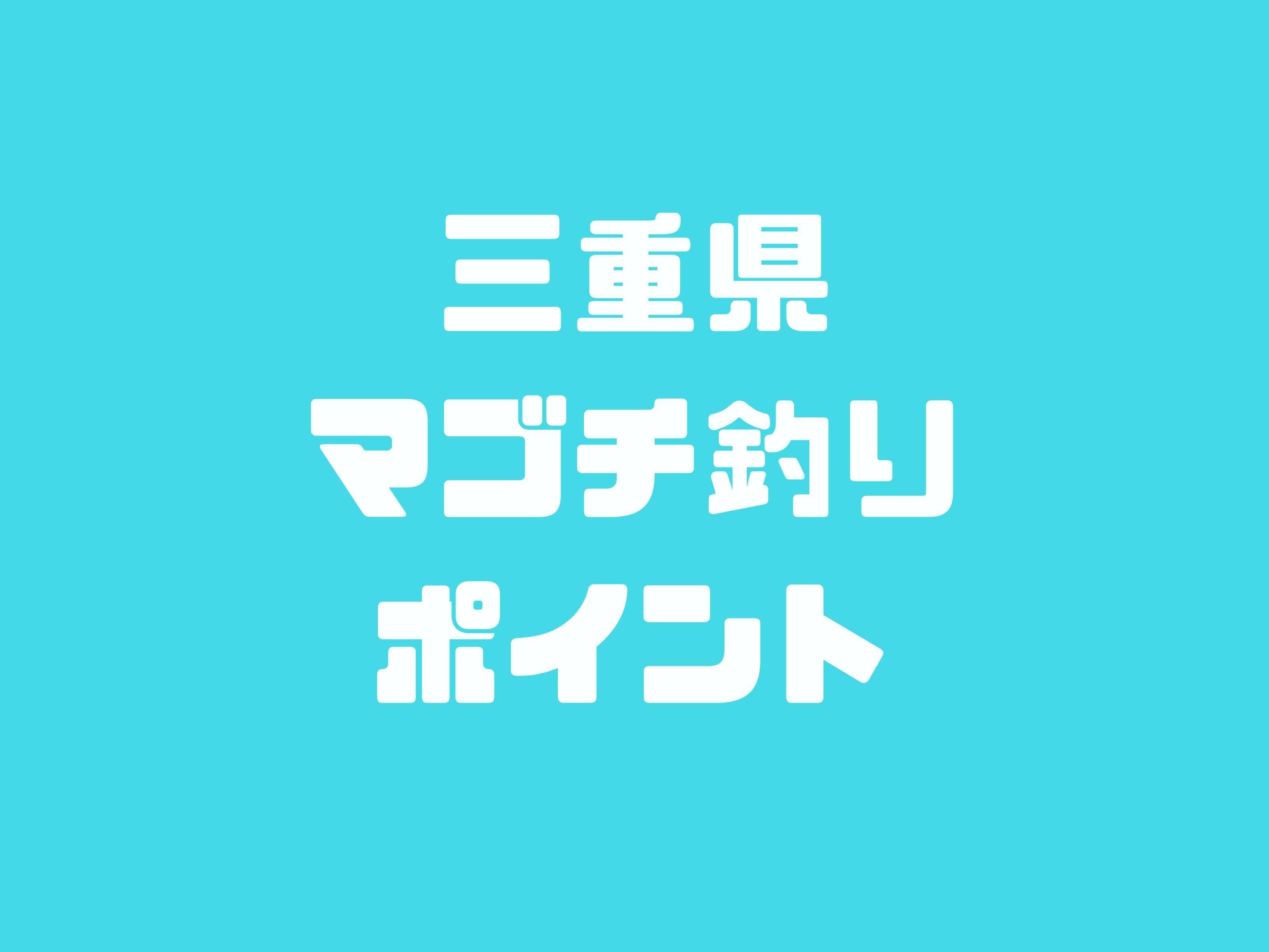 三重県マゴチ釣りポイント