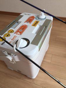 クーラーボックス用のロッドホルダーを自作