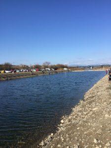 北方マス釣り場