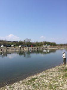 【2020年4月】愛知県の管理釣り場、北方マス釣り場にニジマス釣りに行ってきました