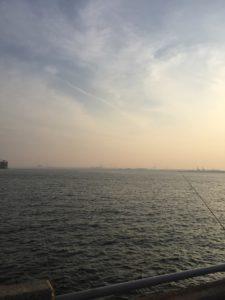 衣浦トンネル(碧南側)でアナゴ・カサゴ釣りに行ってきました