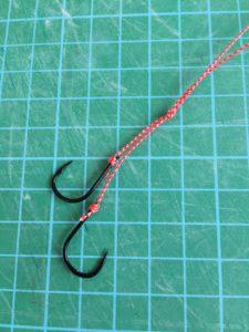 100均のネクタイで作る「タイラバ」自作方法