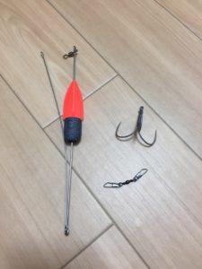 貝釣りに使う仕掛けを自作する方法