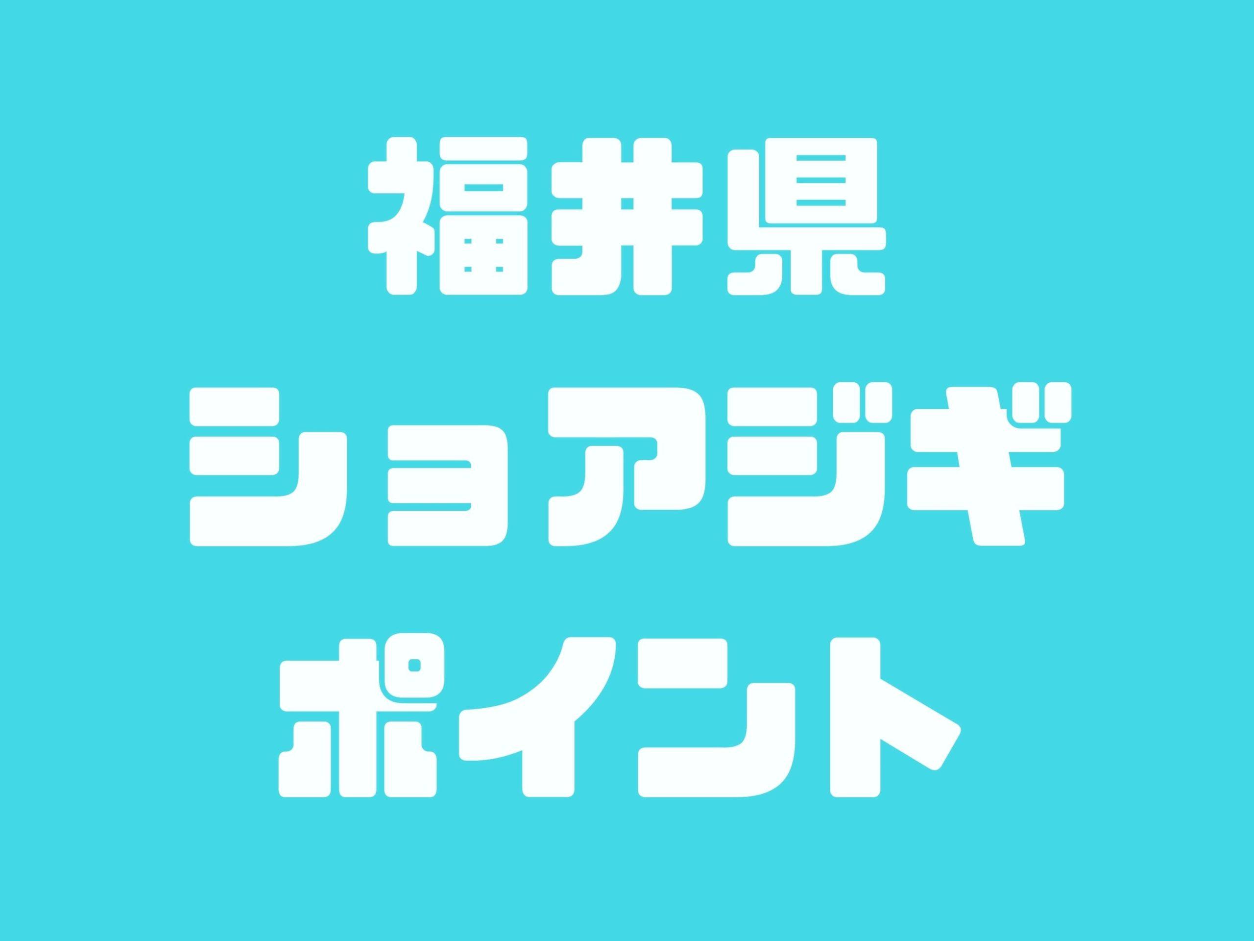 福井県で青物(ブリ・サワラ)が釣れるショアジギポイント